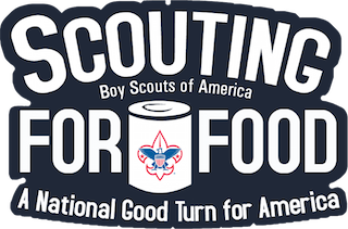 bsa scouting for food